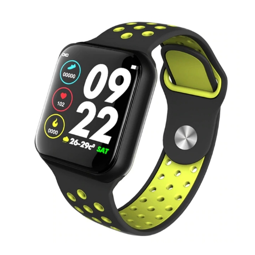 Health and fitness watch F8- Black/green